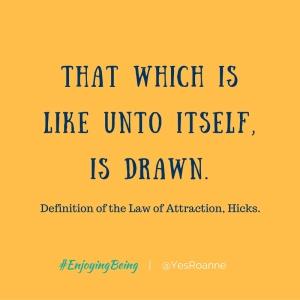 Define Law of Attraction