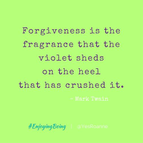 Forgiveness by Mark Twain