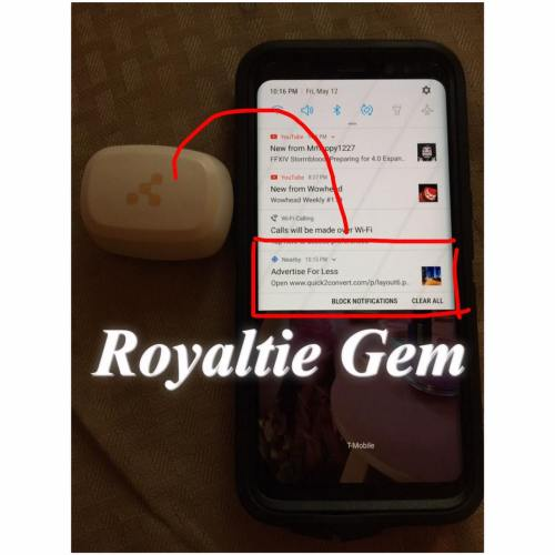 Royaltie Gem Proximity Marketing Device