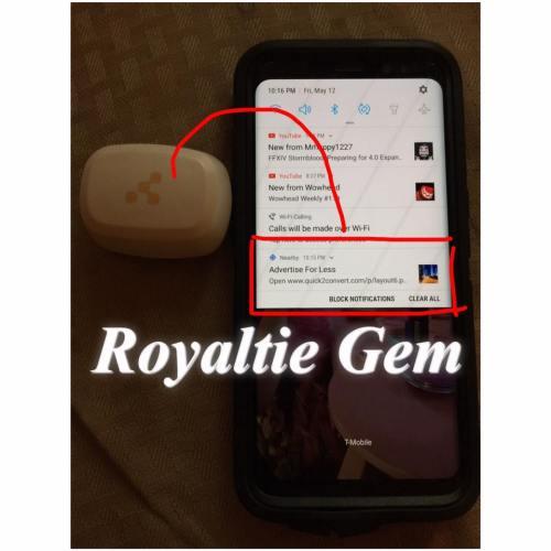 Royaltie Gem Proximity Marketing Device