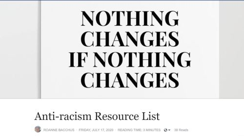 Anti-racist resource list